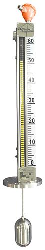 LMT系列顶装式磁翻柱液位计