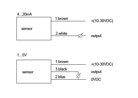 KAP10系列通用压力变送器接线图