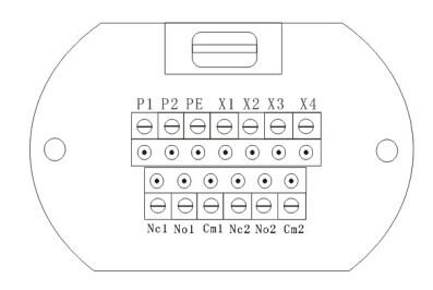 RTFM数显射频导纳物位变送器接线图