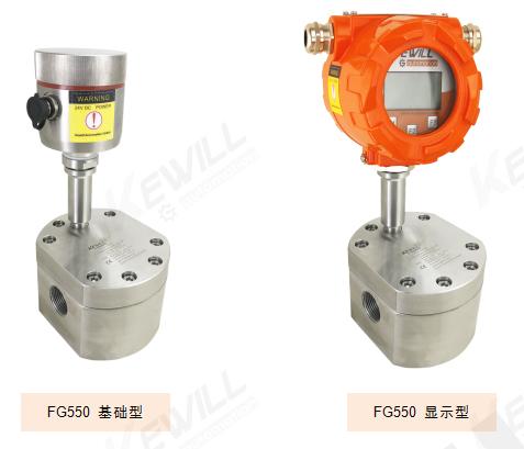 FG550容积齿轮流量计实物图